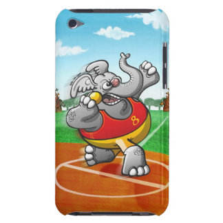 Shot Put Elephant iPod Touch Case-Mate Case