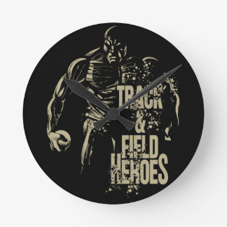 shot put hero round clock