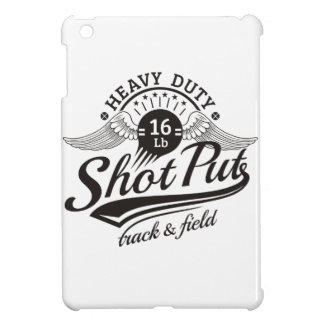 shot put wings iPad mini cases