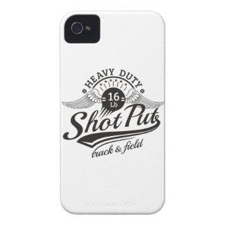 shot put wings iPhone 4 Case-Mate case