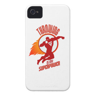 shot putting is my superpower iPhone 4 case