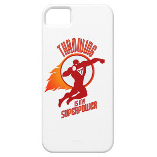 shot putting is my superpower iPhone 5 case