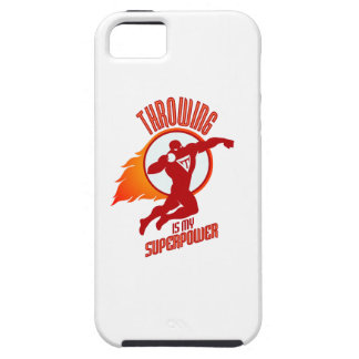 shot putting is my superpower iPhone 5 covers