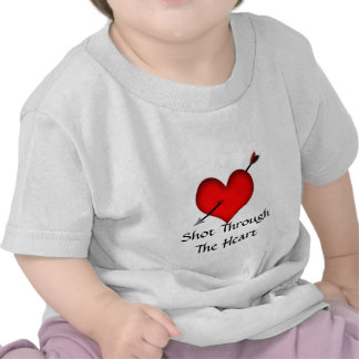Shot Through The Heart- Infant Basic T-Shirt