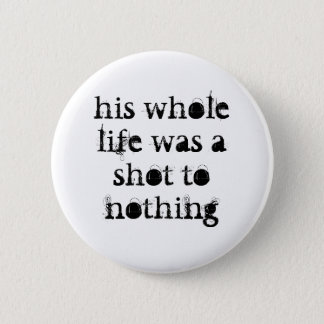 shot to nothing Rocky/snooker badge