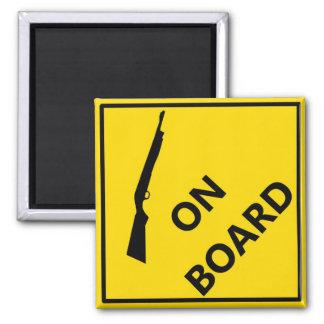 Shotgun On Board Magnet