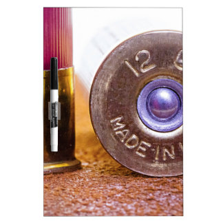 Shotgun Shell Dry Erase Boards