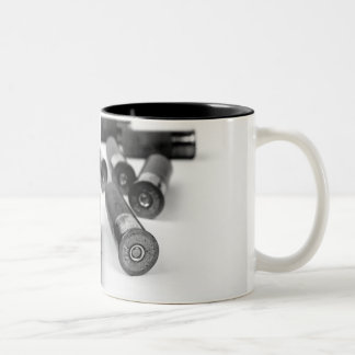 Shotgun Shells Two-Tone Coffee Mug