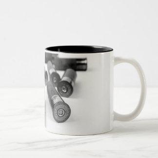 Shotgun Shells Two-Tone Coffee Mug