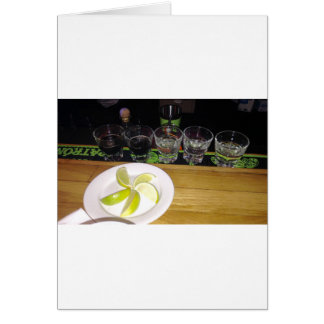 Shots With A Little Lime Card