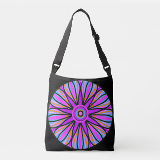 Shoulder bag. Pastel mandala. Crossbody Bag