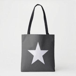 Shoulder-bag Star Dark Grey Gray Tote farrowed