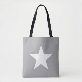 Shoulder-bag Star Grey Tote farrowed