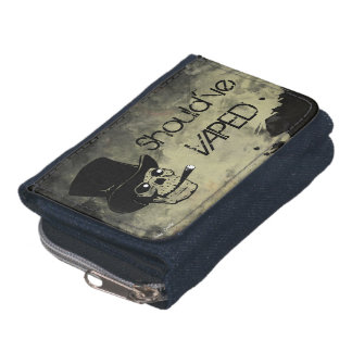 Should've Vaped Skull Wallet