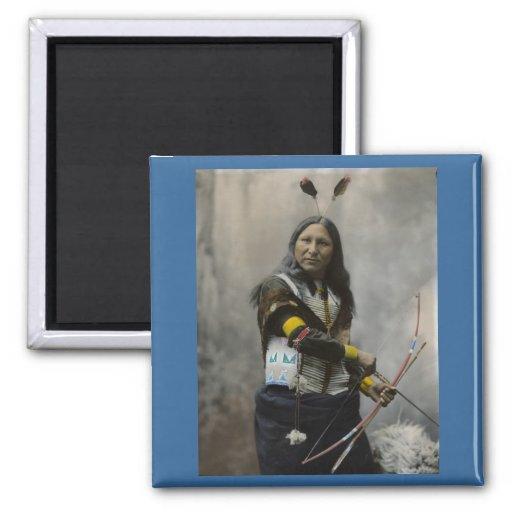 Shout At, Oglala Sioux, 1899 Fridge Magnet