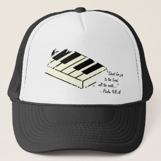 """Shout for Joy - Piano"" Hat"