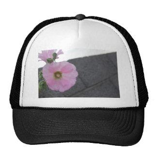 shovel and flower trucker hats