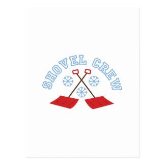 Shovel Crew Postcard