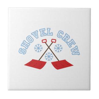 Shovel Crew Small Square Tile