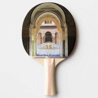 Shovel ping pong Alhambra Granada