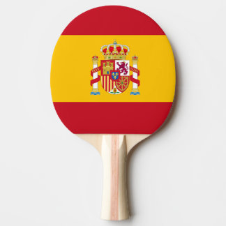 shovel table tennis Spanish flag Ping Pong Paddle