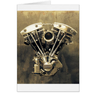 Shovelhead Photo #1 Greeting Card