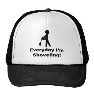 Shoveling Everyday Mesh Hats
