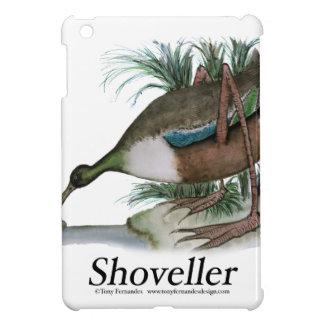 Shoveller duck, tony fernandes cover for the iPad mini