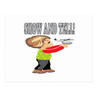 Show And Tell 2 Postcard