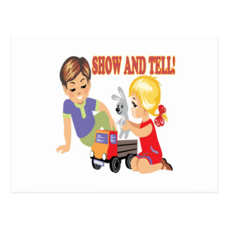 Show And Tell 3 Postcard