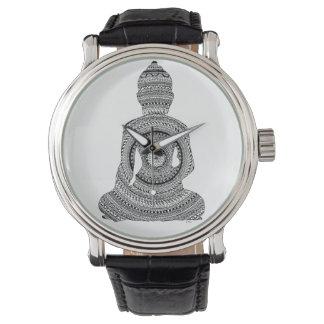 Show Bouddha GraphiZen Watch