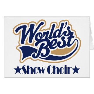 Show Choir Gift Card