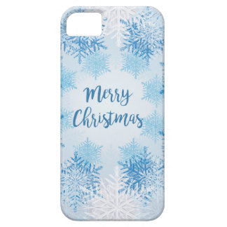 SHOW FLAKES PATTERN Merry Christmas iPhone 5 Cover