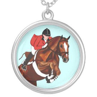 Show Jumper Equestrian Necklace