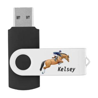 Show Jumper Horse Equestrian 3.0 32GB Flash Drive
