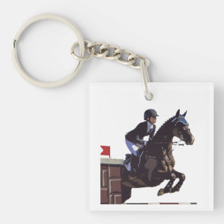 Show Jumping Key Ring