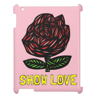 """Show Love"" 631 Art iPad Case"