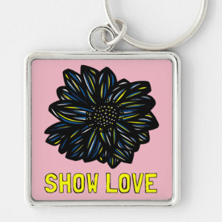 """Show Love"" Premium Keychain"