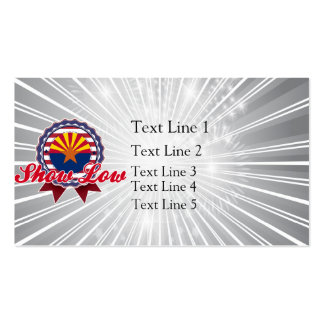 Show Low, AZ Business Cards
