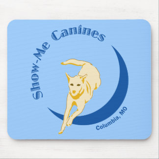 Show Me Canines Mouse Pad