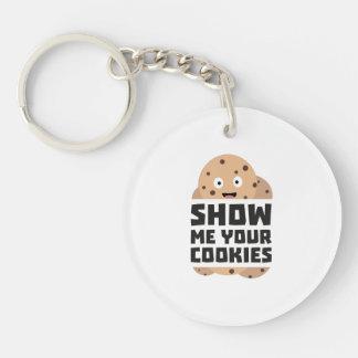 Show me Cookies Zq3fm Key Ring