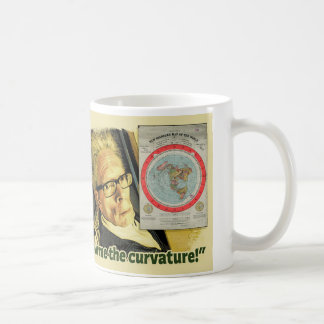 """Show me the Curvature!"" Coffee Mug"