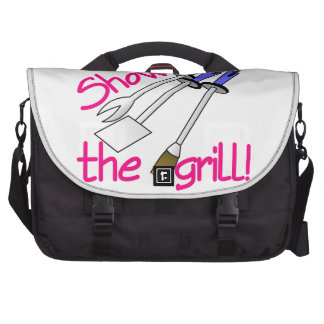 Show Me The Grill Laptop Bag