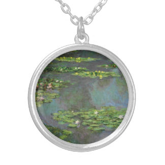 Show Me the Monet Silver Plated Necklace