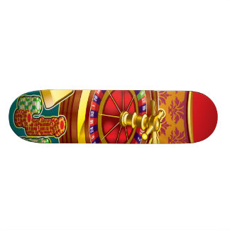 Show Me The Money Gambler Skate Board Deck