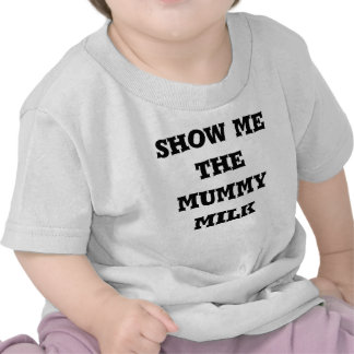 show me the mummy milk T Tshirt