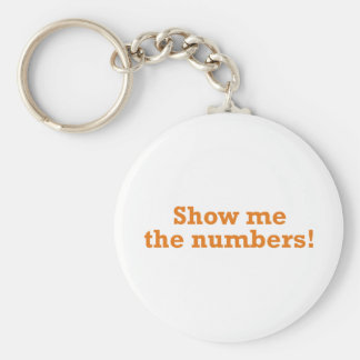 Show me the numbers! key ring