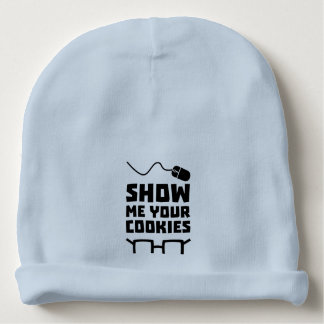 Show me your Cookies Geek Zb975 Baby Beanie