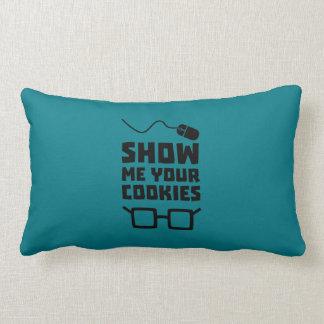 Show me your Cookies Geek Zb975 Lumbar Cushion