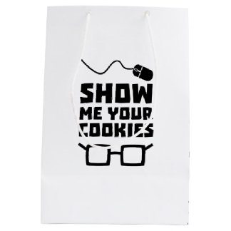 Show me your Cookies Geek Zb975 Medium Gift Bag